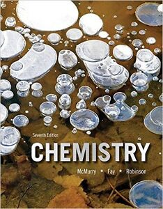 Hardcover Chemistry 7/E McMurry (with solutions manual)