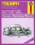 Triumph Herald Workshop Manual