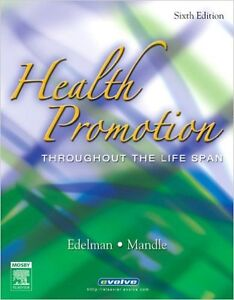 Health Promotion Throughout the Life Span 6th Edition Kitchener / Waterloo Kitchener Area image 1
