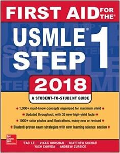 First Aid for the USMLE Step 1 -2018, 28th Edition