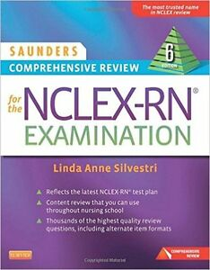 *Great Condition* Saunders Comprehensive Review for the NCLEX RN