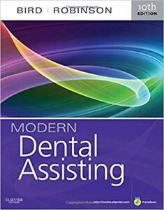 Used Modern Dental Assisting textbook 10th edith