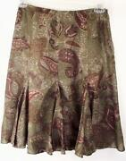 Ralph Lauren Silk Skirt