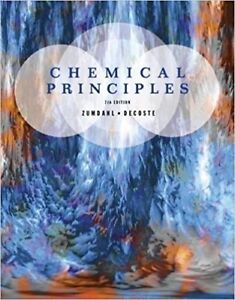 Chemical Principles Textbook and  Solution Manual