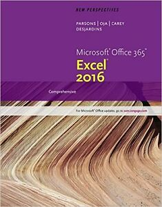 New Perspectives on Microsoft Office Excel 2016 Comprehensive