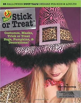Stick or Treat: 25 Halloween Duct Tape Designs for Kids & Adults NEW craft book - Duct Tape Crafts For Halloween