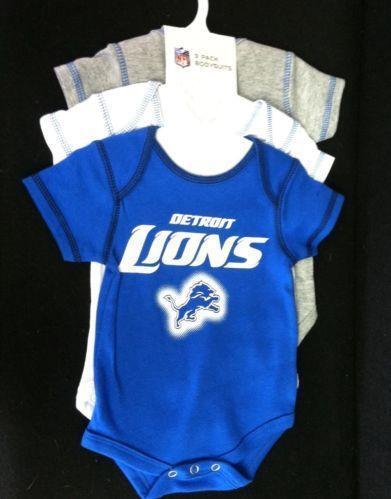 Detroit Lions Baby Clothes