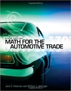 5th Edition Math for the Automotive Trade