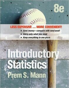 Stats 245/PLSC 214 Introductory Statistics 8th Edition
