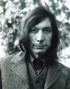 Charlie Watts Signed