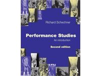 Performance Studies, An Introduction, Second Edition by Richard Schechner - £27 (RRP £32.99)