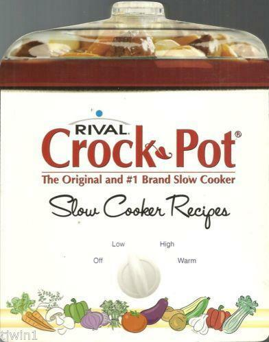 Cookbook: The Crock-Pot Ladies Big Book of Slow Cooker ... |Vintage Recipe Book Crock Pot