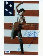 Bruce Springsteen Signed PSA