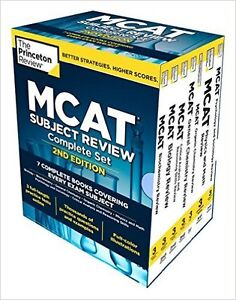 BRAND NEW, Princeton Review MCAT Subject Review Complete Box Set