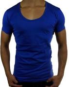 Mens Scoop Neck Shirt