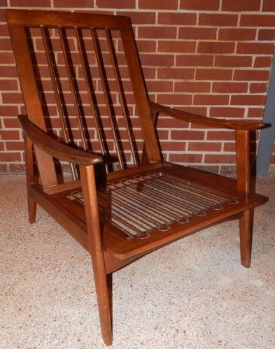 Antique High Back Chair | eBay