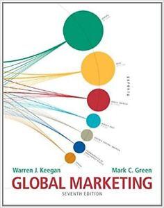 Global Marketing textbook for Sale!