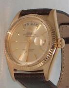 Rolex Solid Gold Watch