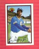 Ken Griffey Jr Rookie Card Bowman