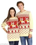 Reindeer Christmas Jumper