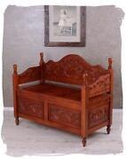 Sitzbank Holz Antik