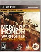 Medal of Honor Warfighter PS3 New