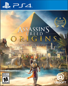 Assassin's Creed Origins - PS4 - $30 - Mint Condition