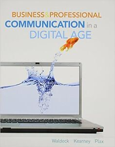 Business and Professional Communication in a Digital Age Paperba