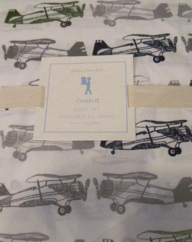 Pottery Barn Airplane Sheets Ebay