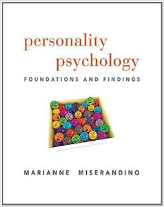 personality psychology, foundations and findings