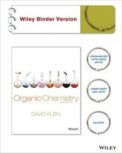 Organic Chemstry - David Klein, Wiley Binder Version