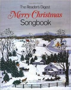 Readers Digest Merry Christmas Song Book Spiral Bound