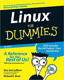 Linux for Dummies 8th Edition with DVD