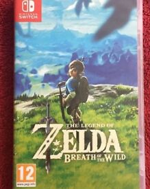 The legend of Zelda - Nintendo Switch