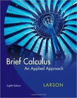 MAT1300: Brief Calculus - 8th Ed. by Larson (+ NOTES & MIDTERMS)