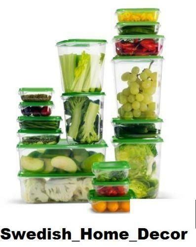 Tupperware Glass Food Container Material List