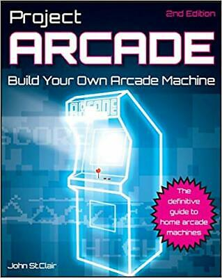 Project Arcade Build Your Own Arcade Machine - Instant Email Delivery Own Arcade Machine