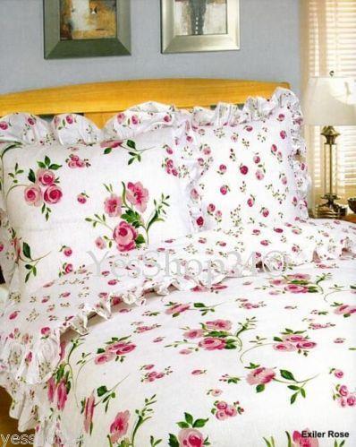 bettw sche mit rosen ebay. Black Bedroom Furniture Sets. Home Design Ideas