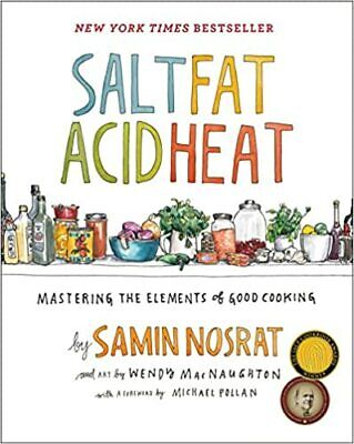 Salt, Fat, Acid, Heat: Mastering the Elements of Good Cooking ( 2017, Digital) New Master Well