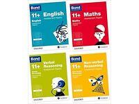 Bond 11+ English, Maths, Verbal Reasoning, Non-verbal Reasoning: Assessment Papers: Smoke & Pet Free