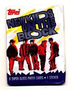 New Kids on The Block Trading Cards