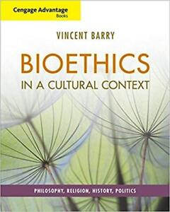 Bioethics in a Cultural Context Textbook