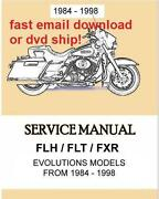 Harley FLH Service Manual