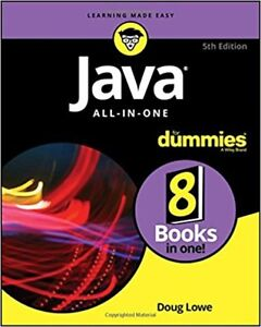 Java All-in-One For Dummies Paperback by Doug Lowe-BRAND NEW