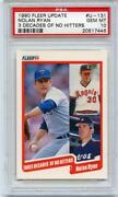 Fleer Nolan Ryan PSA 10
