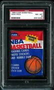 1986 Fleer Basketball Wax Pack