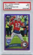 2011 Topps Chrome Tom Brady
