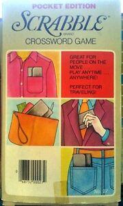 1976 Vintage travel Scrabble game