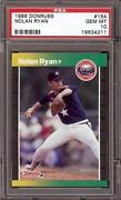 Donruss Nolan Ryan PSA 10