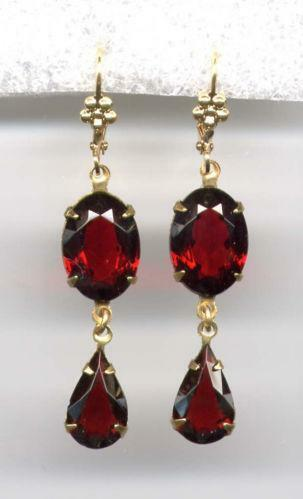 czech garnet jewelry ebay